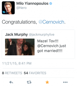 Milo Retweet Jack Murphy Live